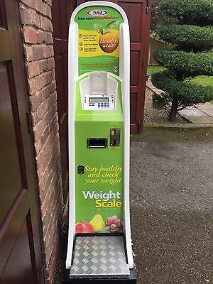 IVM Coin Operated Weighing Scales With Printout - Full Working Order