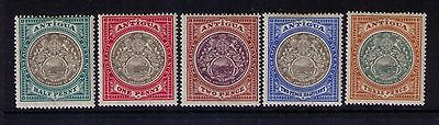 ANTIGUA STAMPS Sc # 21-25 WMK 1 MH SET