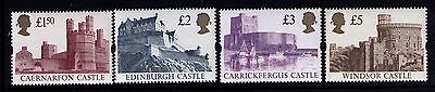 1992 Great Britain SC #1446-1448 WINDSOR CASTLE MNH SET