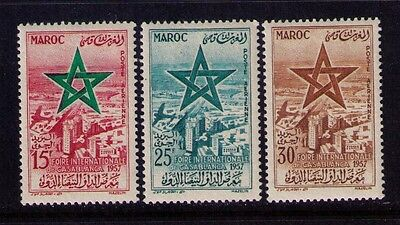 Morocco, Maroc Airmail Stamps Sc# C1-3 Mnh Cpl.set