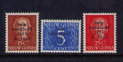 Netherlands Colonies New Guinea Semi-Postal Stamps Sc# B1-3 Mnh