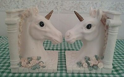 A Pair of Unicorn Bookends