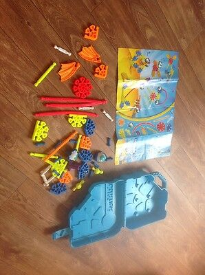 Kid K'nex Undersea Pals Set In Box Case Couple Of Small Bits Missing