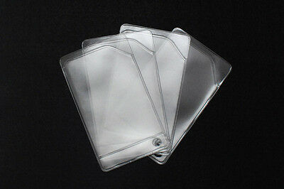Clear plastic sleeve for cards credit card business card gift card (10)