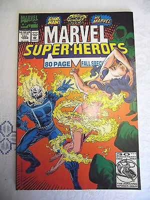 Marvel Super-Heroes 80 page Fall Special Ghost Rider Ms Marvel 1992 FN