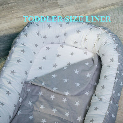 Toddler size nest protection liner, Easy washing, longer using.