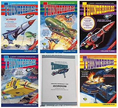 Personalised THUNDERBIRDS Original Comic Strip COMICS For Fan Him Birthday Gifts