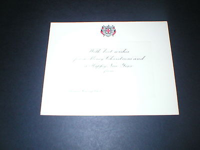 Thames Rowing Club, Vintage Christmas Card with Logo