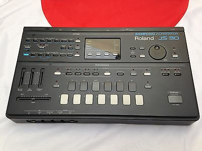 Vintage Roland Js-30 Sampling Workstation Js30 Sampler