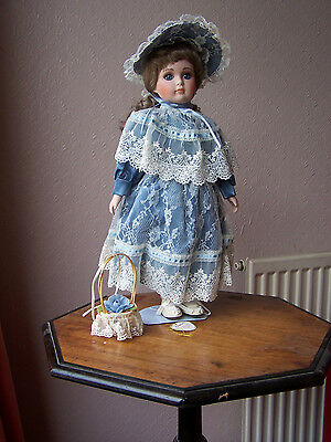 Porcelain Ex Display Doll,  `amyie` 14Ins, Alberon  Old Stock  Clearance