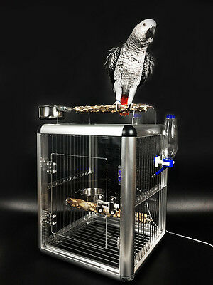Yakeli Bird Cage Parrot Is Out  Aluminum Alloy Stainless Steel Bird Cage