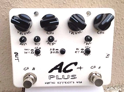 pédale Xotic AC+...............distortion overdrive strymon boss vox