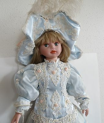 "AEL PARADISE GALLERIES 24"" DOLL VINYL /CLOTH By Kathy Smith Fitzpatrick 2006"