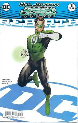 Hal Jordan and the Green Lantern Corps: Rebirth #1 variant cover (WK2)