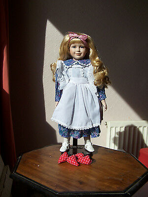 Porcelain Ex Display , `nesta` 16Ins, Minster Victorian Doll Stock  Clearance