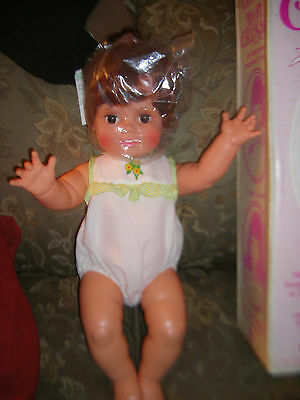 IDEAL BABY CRISSY DOLL UP FOR ADOPTION  NRFB 30 3 iece custom made outfit pinaf