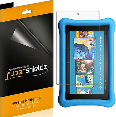 3X HD Clear Screen Protector for Amazon Fire HD 8 Kids Edition- (2017 / 2018)