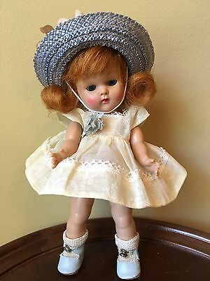 Vintage Vogue Strung Ginny Doll Gorgeous Red Head