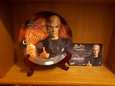 Buffy the Vampire Slayer Spike plate