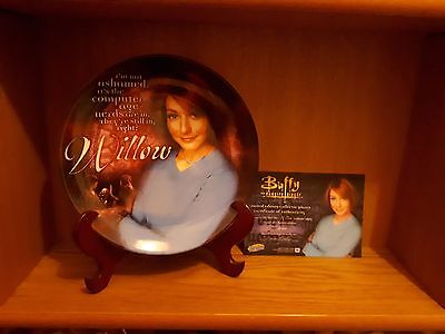 Buffy the Vampire Slayer Willow Plate