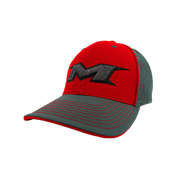 Miken Hat by Pacific (404M) CHARCOAL/CHAR/RED/BLK/CHAR LG/XL (7 3/8- 8)