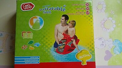 chad valley water inflatables set