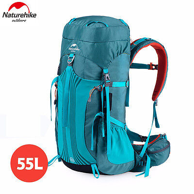 Rucksack Bag 55L Outdoor Sport Luggage Travel Backpack Climbing Camping Hiking