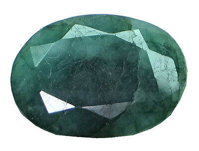 5.05ct/5.61 Ratti NATURAL&IIGS CERTIFIED EMERALD PANNA ASTROLOGICAL GEMS AGJ1911