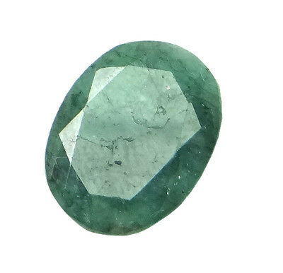 6.54ct/7.26 Ratti NATURAL&IIGS CERTIFIED EMERALD PANNA ASTROLOGICAL GEMS AGJ2103