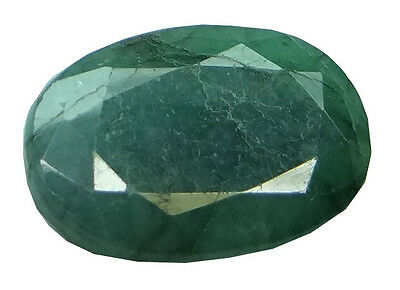 7.07ct/7.85 Ratti NATURAL&IIGS CERTIFIED EMERALD PANNA ASTROLOGICAL GEMS AGJ1913