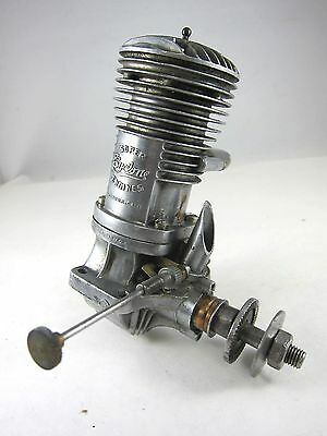 Vintage Super Cyclone 60 Ignition Model Airplane Engine