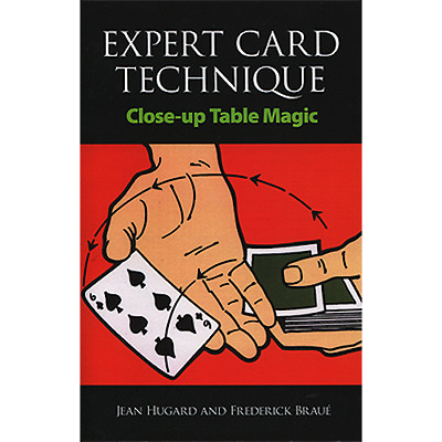 Expert Card Technique Book by Jean Hugard and Frederick Braue Learn Easy Magic
