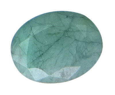 3.99ct/4.43 Ratti NATURAL&IIGS CERTIFIED EMERALD PANNA ASTROLOGICAL GEMS AGJ2084