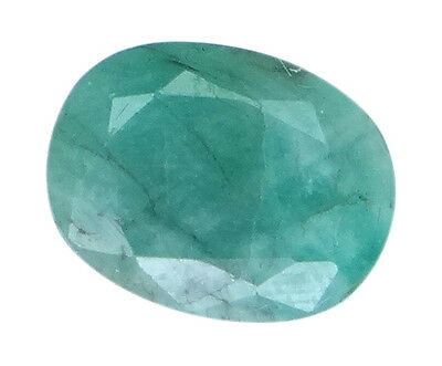 4.23ct/4.7 Ratti NATURAL&IIGS CERTIFIED EMERALD PANNA ASTROLOGICAL STONE AGJ2066