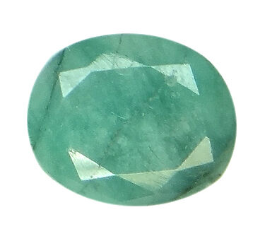 5.07ct/5.63 Ratti NATURAL&IIGS CERTIFIED EMERALD PANNA ASTROLOGICAL GEMS AGJ2113