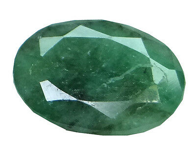 4.95ct/5.5 Ratti NATURAL&IIGS CERTIFIED EMERALD PANNA ASTROLOGICAL STONE AGJ1938