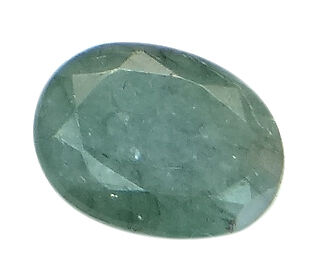 3.85ct/4.27 Ratti NATURAL&IIGS CERTIFIED EMERALD PANNA ASTROLOGICAL GEMS AGJ2070