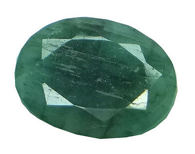 4.07ct/4.52 Ratti NATURAL&IIGS CERTIFIED EMERALD PANNA ASTROLOGICAL GEMS AGJ1931