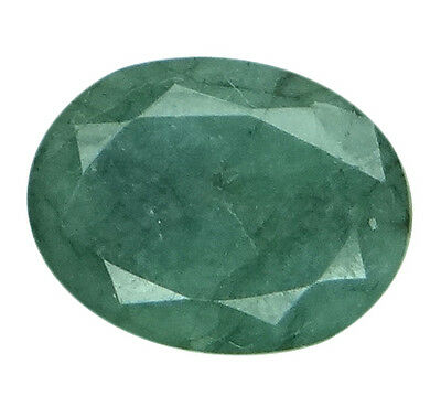 5.97ct/6.63 Ratti NATURAL&IIGS CERTIFIED EMERALD PANNA ASTROLOGICAL GEMS AGJ2104