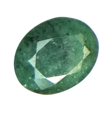 4.05ct/4.5 Ratti NATURAL&IIGS CERTIFIED EMERALD PANNA ASTROLOGICAL STONE AGJ2076