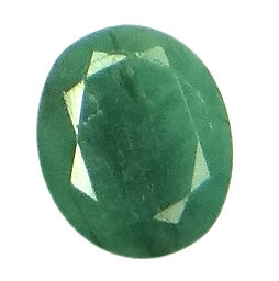 6.7ct/7.44 Ratti NATURAL&IIGS CERTIFIED EMERALD PANNA ASTROLOGICAL STONE AGJ2107