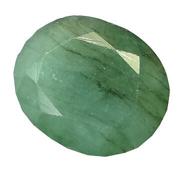 4.62ct/5.13 Ratti NATURAL&IIGS CERTIFIED EMERALD PANNA ASTROLOGICAL GEMS AGJ1915