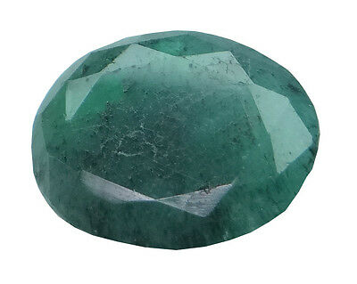 4.77ct/5.3 Ratti NATURAL&IIGS CERTIFIED EMERALD PANNA ASTROLOGICAL STONE AGJ1904