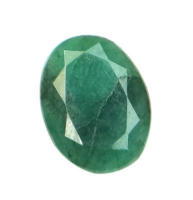 5.1ct/5.66 Ratti NATURAL&IIGS CERTIFIED EMERALD PANNA ASTROLOGICAL STONE AGJ2112