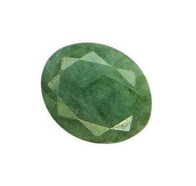 5.67ct/6.3 Ratti NATURAL&IIGS CERTIFIED EMERALD PANNA ASTROLOGICAL STONE AGJ2114