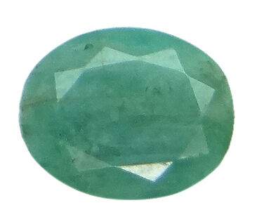 5.7ct/6.33 Ratti NATURAL&IIGS CERTIFIED EMERALD PANNA ASTROLOGICAL STONE AGJ2101