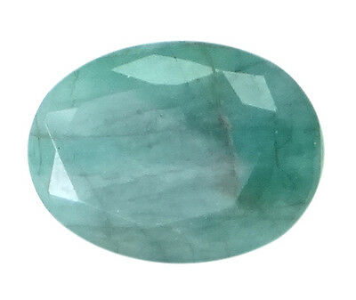 4.44ct/4.93 Ratti NATURAL&IIGS CERTIFIED EMERALD PANNA ASTROLOGICAL GEMS AGJ2054