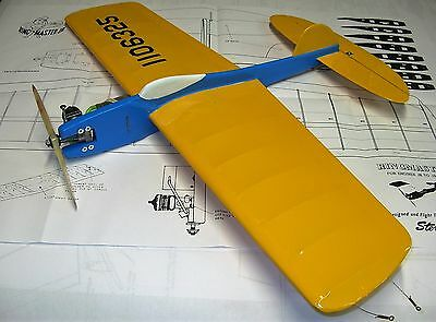 "Model Airplane Plans (UC): Ringmaster Jr. 30"" for .09-.19 Engines (Sterling)"