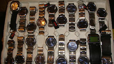 Trade Only Job Lot Of 20 X  Mixed Fhm Collections  Watches 100% Gen <<<><