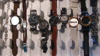 /trade Only Job Lot Of 10 X  Mixed Names  Watches 100% Gen <../.